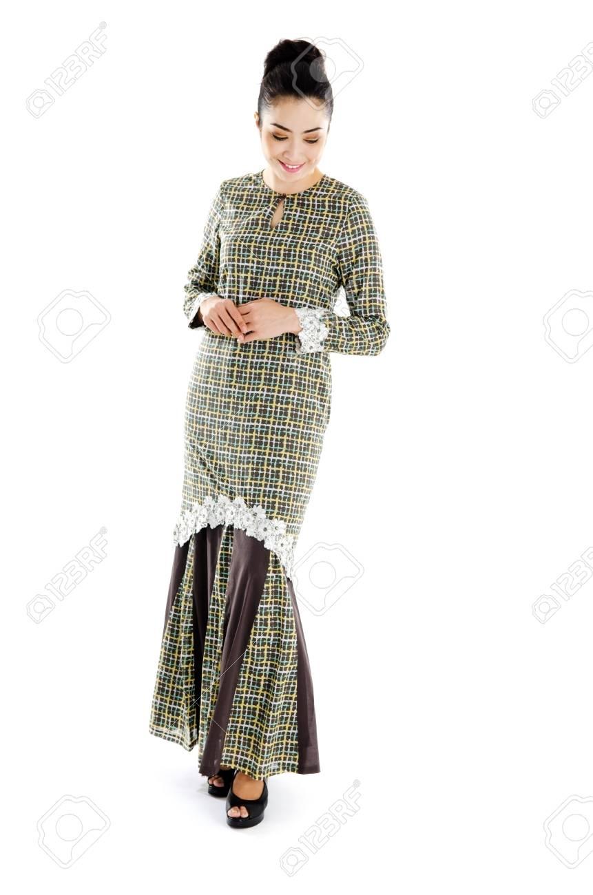 6dd7e4bcf Beautiful southeast asian woman in traditional dress Stock Photo - 28877684