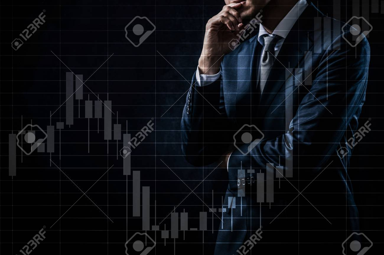 Concept of stock investment - 117782882