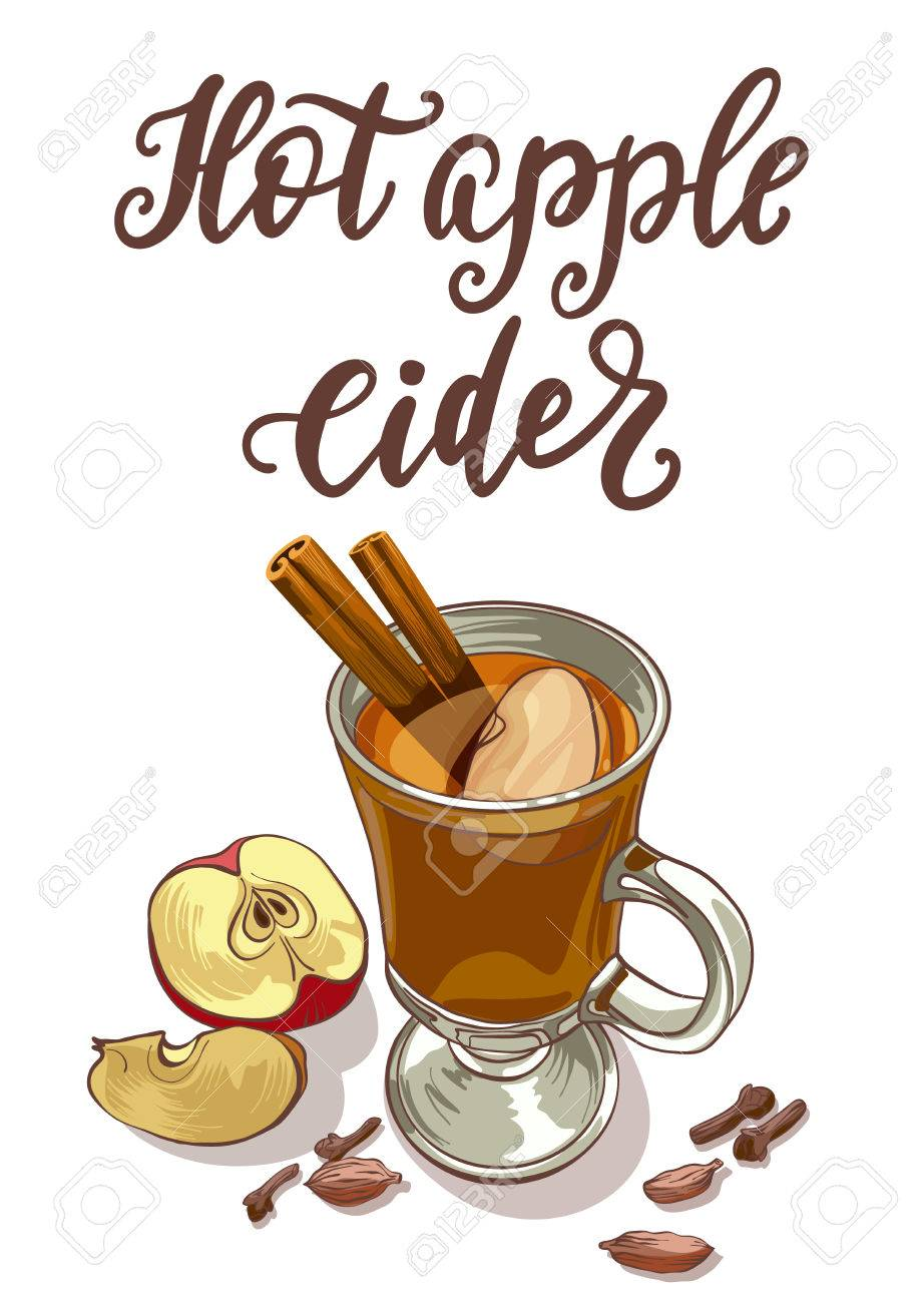 hot apple cider royalty free cliparts vectors and stock rh 123rf com Apple Clip Art Apple Clip Art