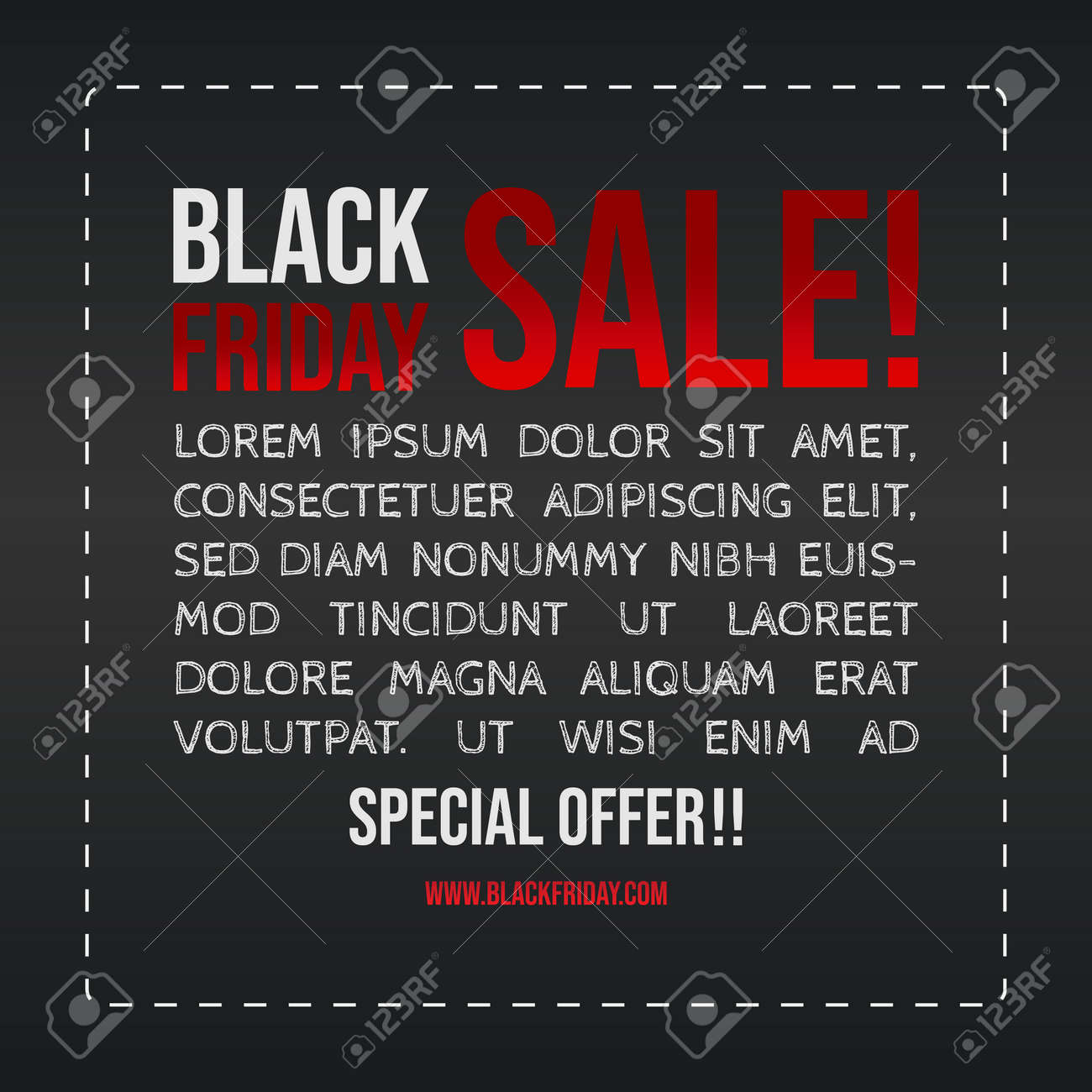 Black Friday Sale banner vector image. Vector design template. Black friday banner. Sale stickers. Discount advertising marketing - 157409416