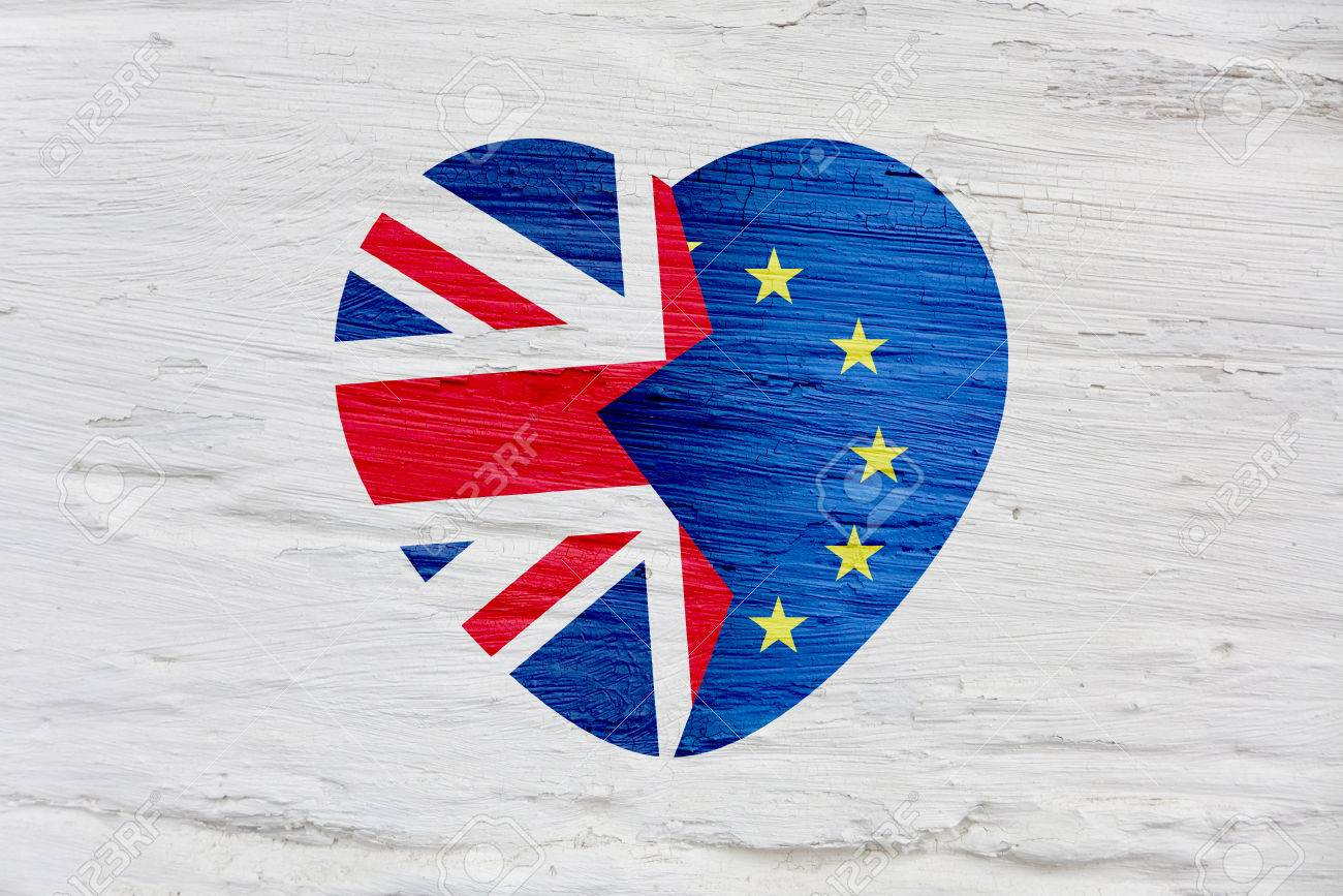 Brexit icon british flag eu flag broken heart symbol of exit brexit icon british flag eu flag broken heart symbol of exit of buycottarizona