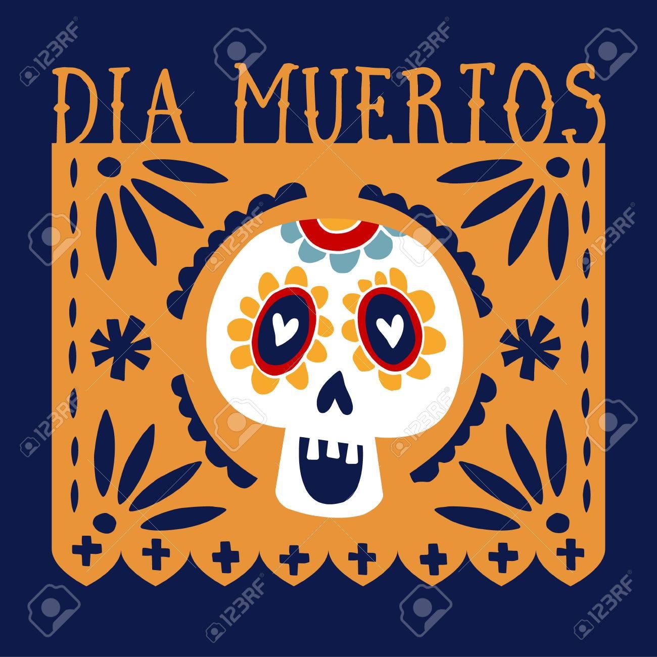 Dia de los muertos greeting card invitation mexican day of dia de los muertos greeting card invitation mexican day of the dead handmade m4hsunfo