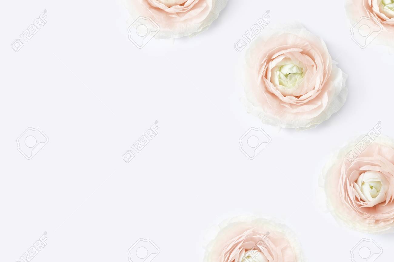 Styled Stock Photo Feminine Desktop Mockup With Blush Pink