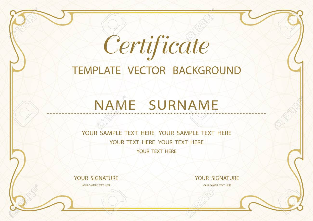 Beautiful blank certificates of completion gallery resume blank certificates of completion lunch voucher template xflitez Image collections