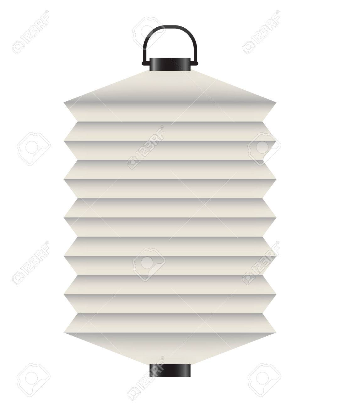 Japanese Lantern Template Stock Photo, Picture And Royalty Free ...