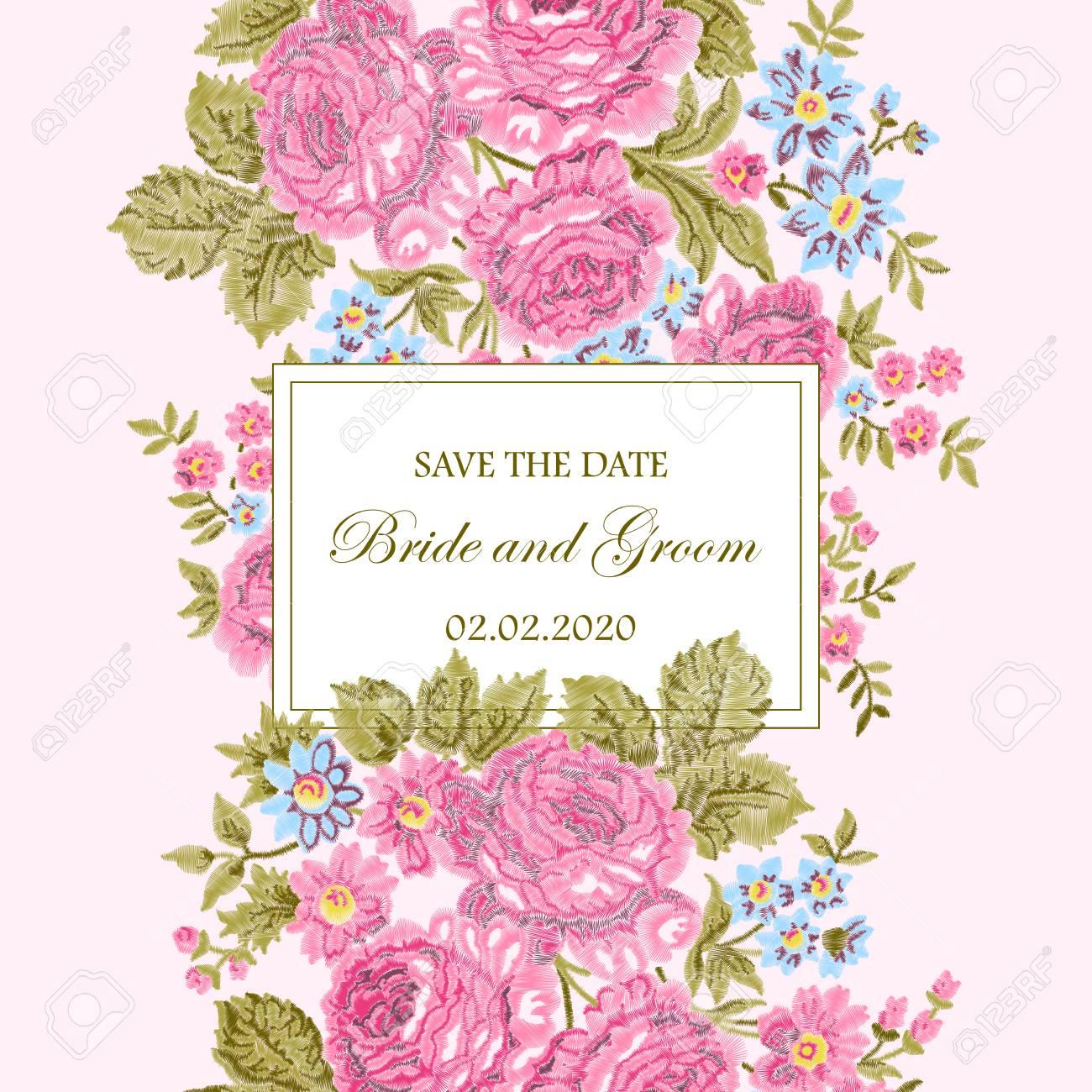 Fondo Flores Rosas Vintage
