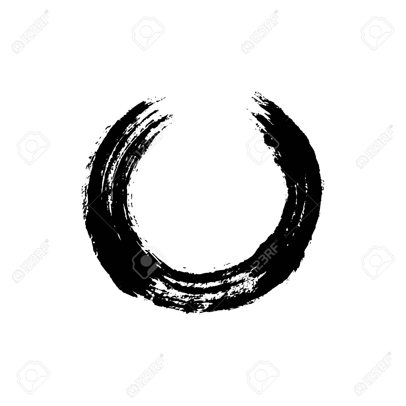 Enso open circle buddhist symbol for the never ending journey buddhist symbol for the never ending journey to be whole handmade biocorpaavc Gallery