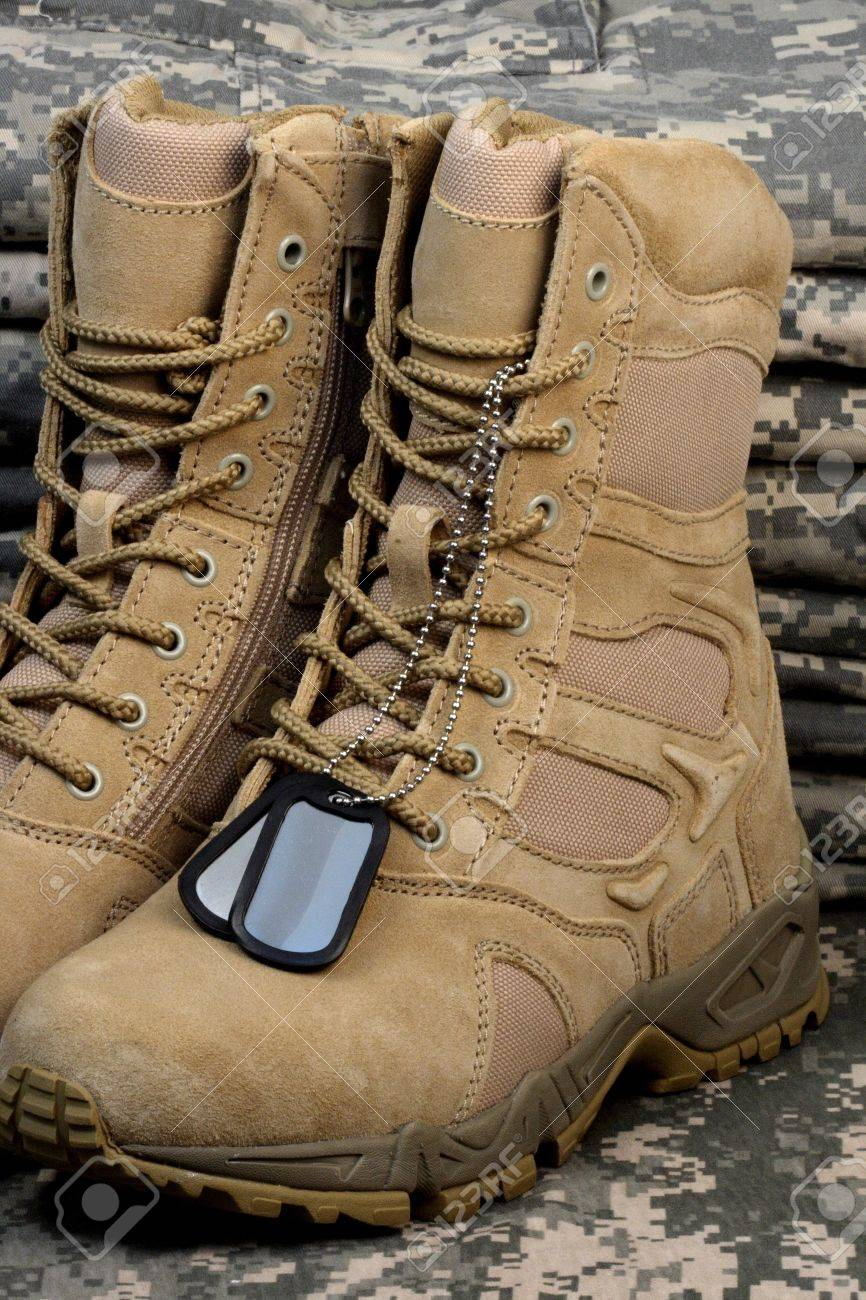 Army Deployment Military Desert Boots