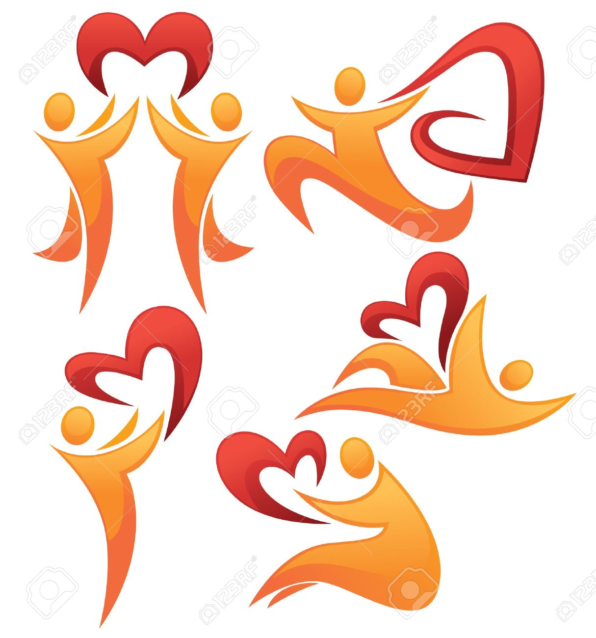 109 Valentine Heard Stock Vector Illustration And Royalty Free