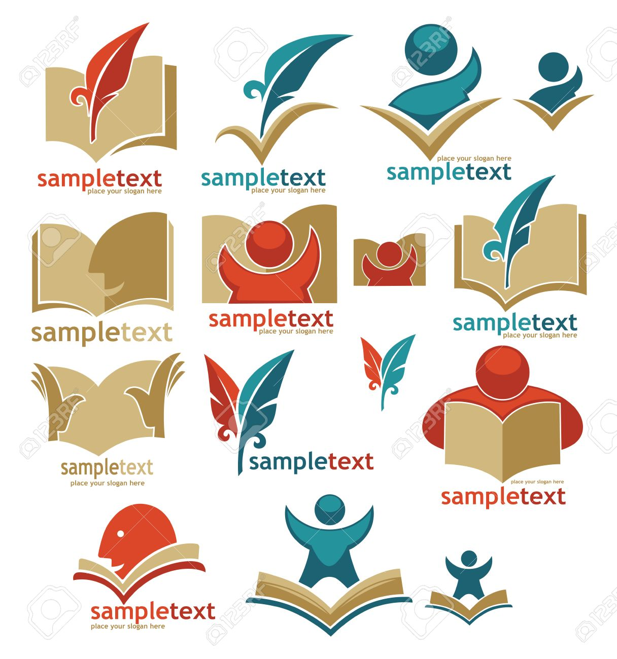 Book, Reading, Education, Signs, Symbols And Logo Royalty Free ...