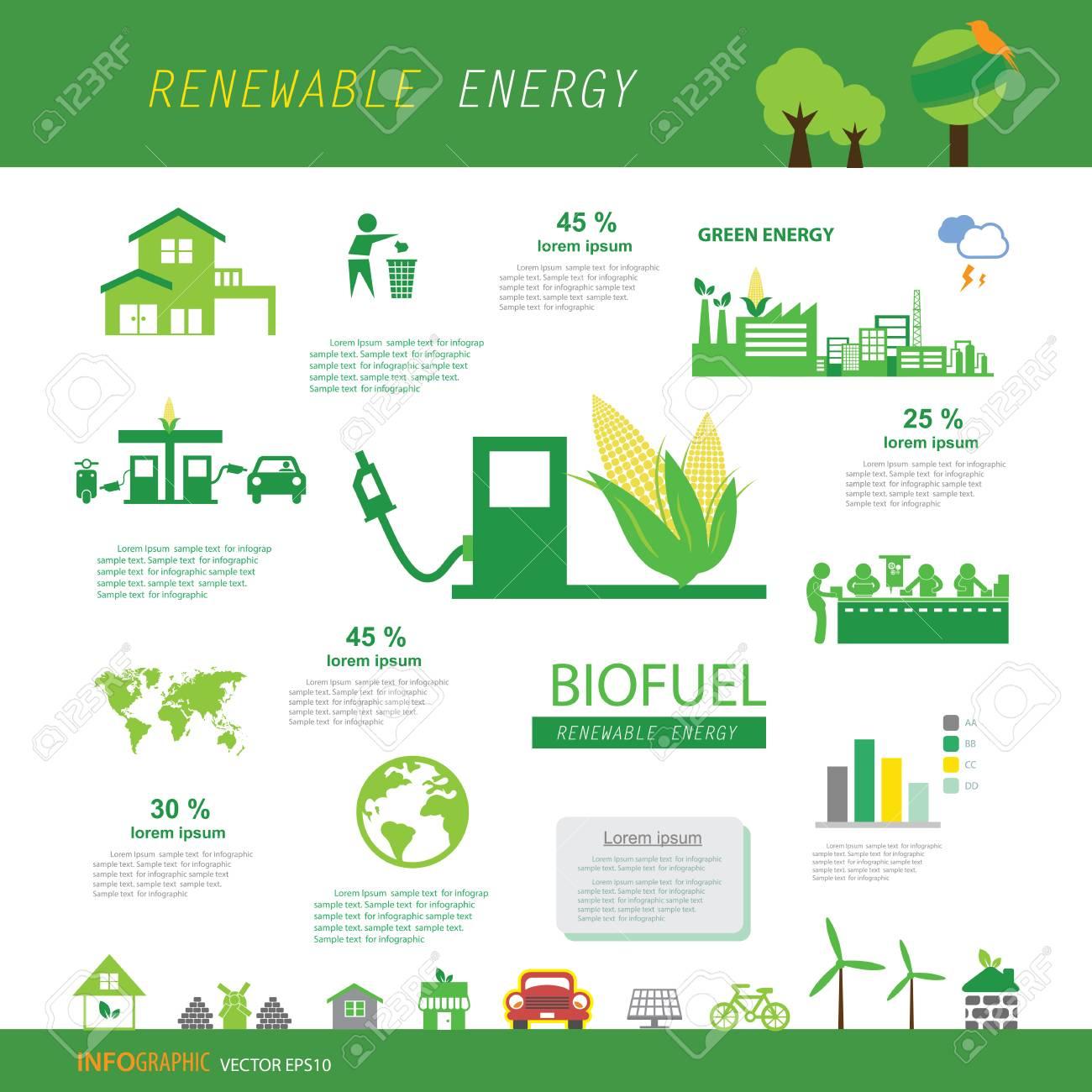 vector corn ethanol biofuel vector icon. Alternative environmental friendly fuel. - 100759420