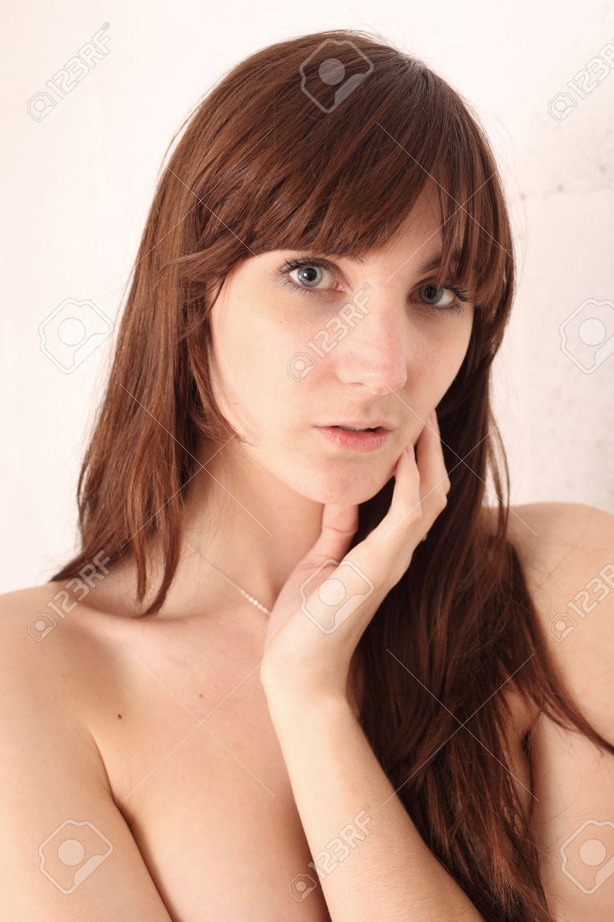 Schöne Mädchen Im Teenageralter Kopfschuss 18 Jahre Alt