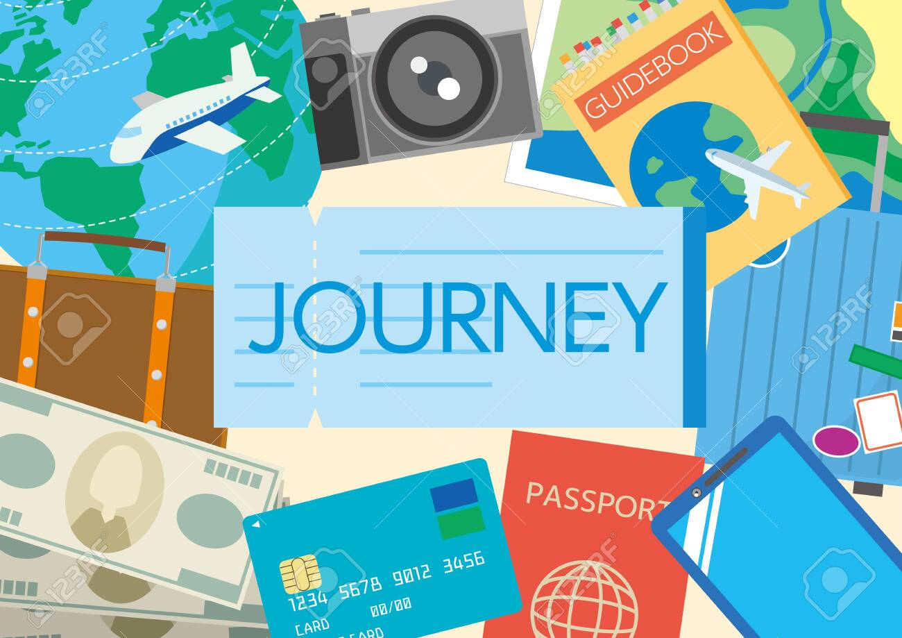 Illustration of world travel - 147602003
