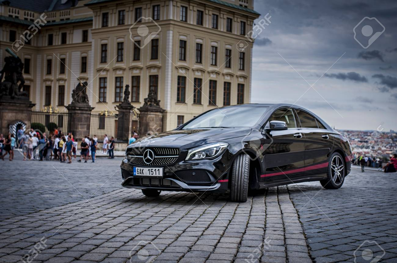 https://previews.123rf.com/images/tadeas21/tadeas211710/tadeas21171000020/87142950-prague-the-czech-republic-31-8-2017-mercedes-benz-cla-45-amg-black-car-with-red-sports-strips-.jpg