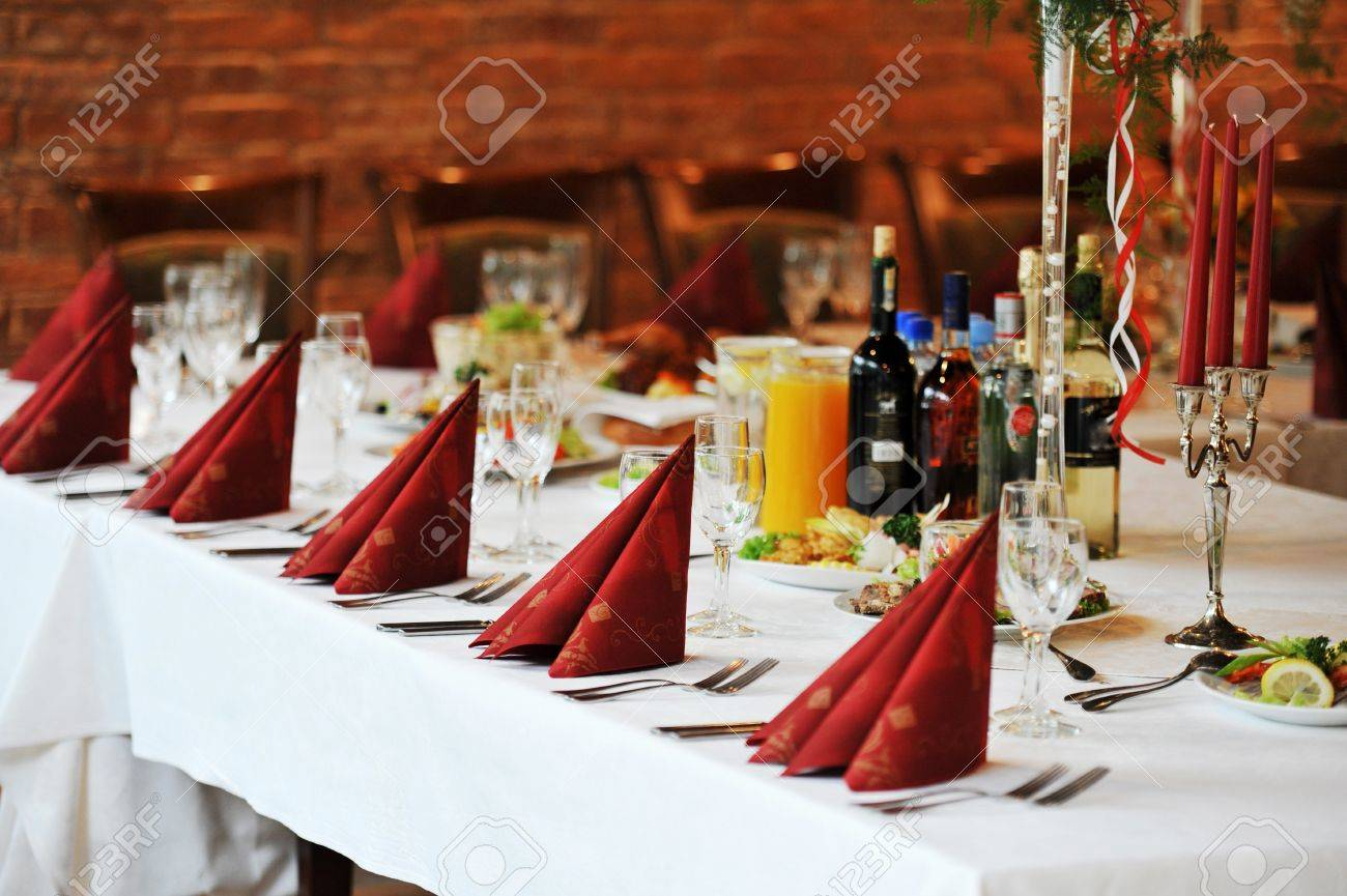 Gasten receptie bruiloft
