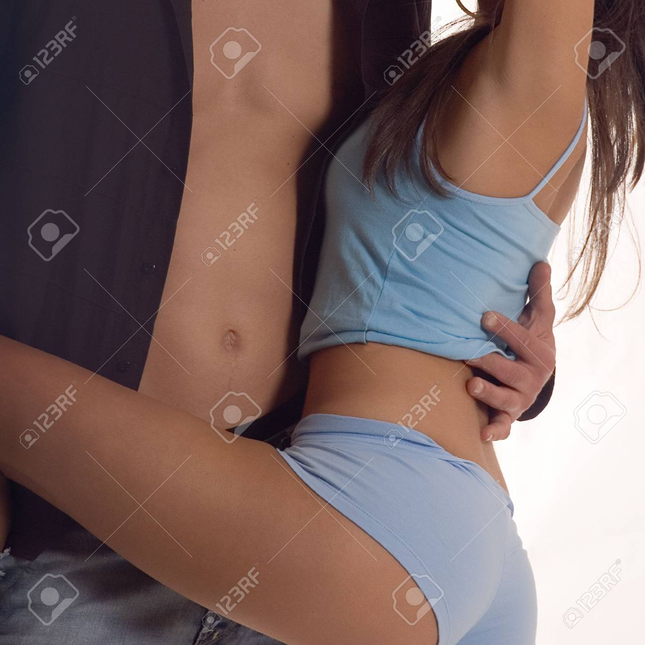 Passion moment between a man and woman Stock Photo - 981038