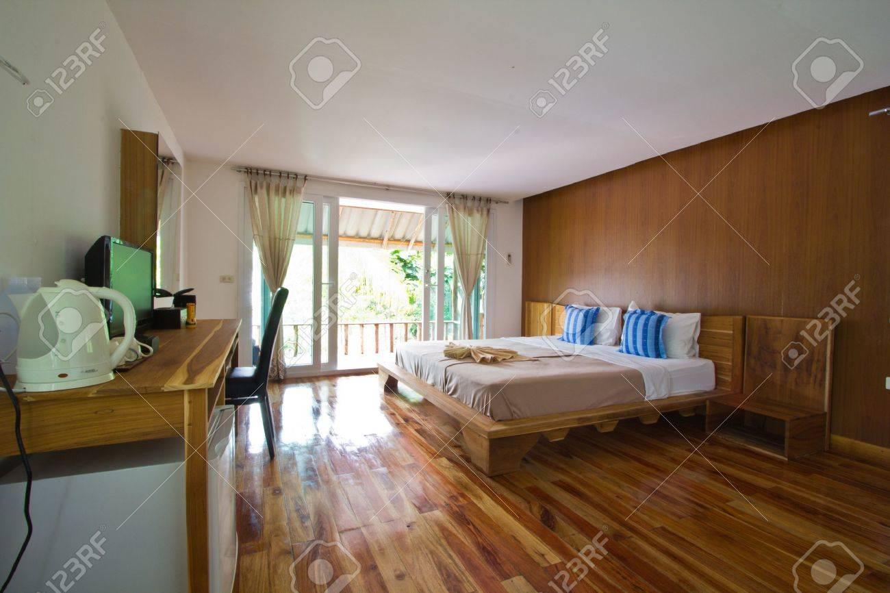 Bed Room at Analay resort Koh Kood Stock Photo - 13244753
