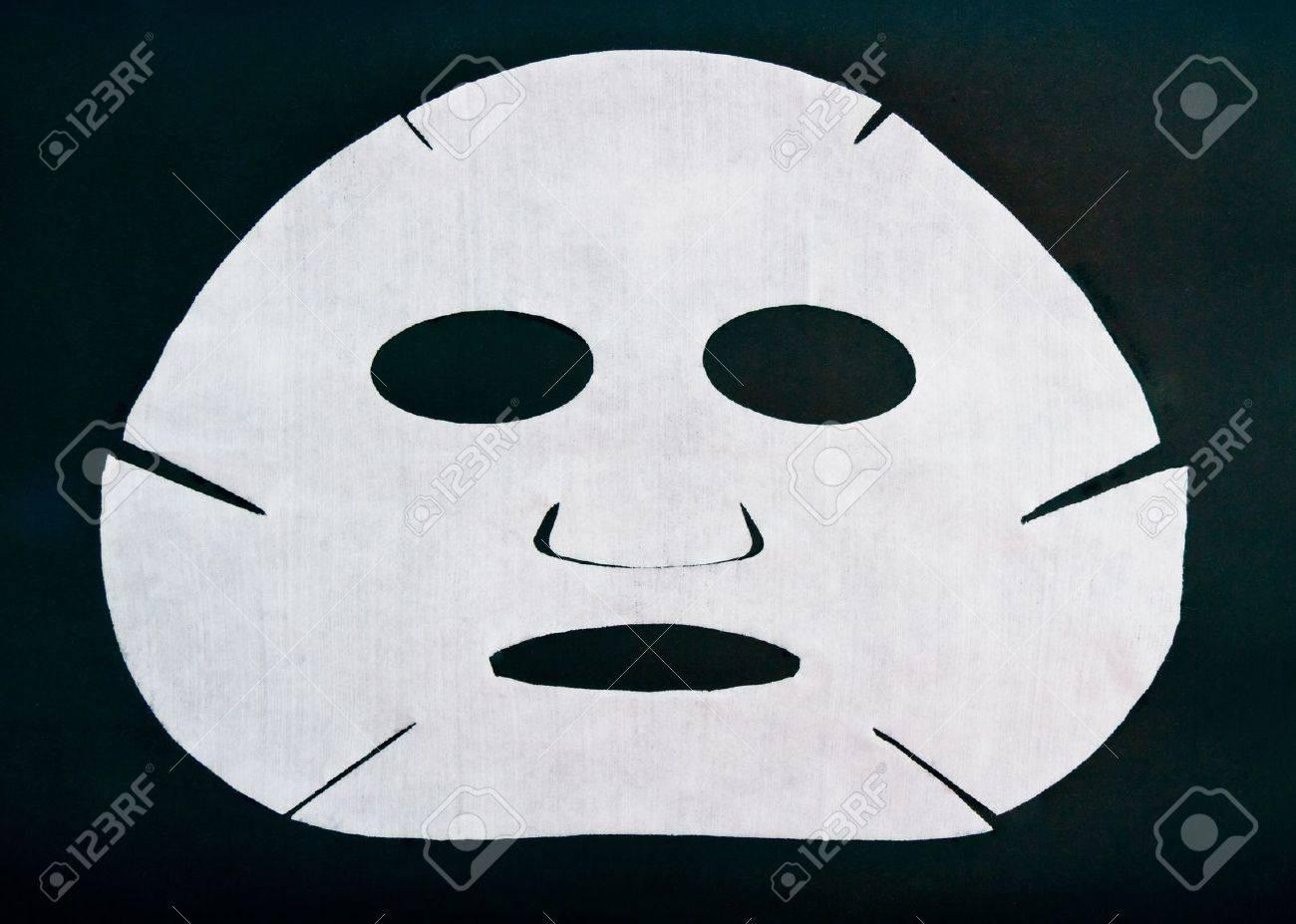 masque cosmétique sur un fond noir Banque d'images - 11408834