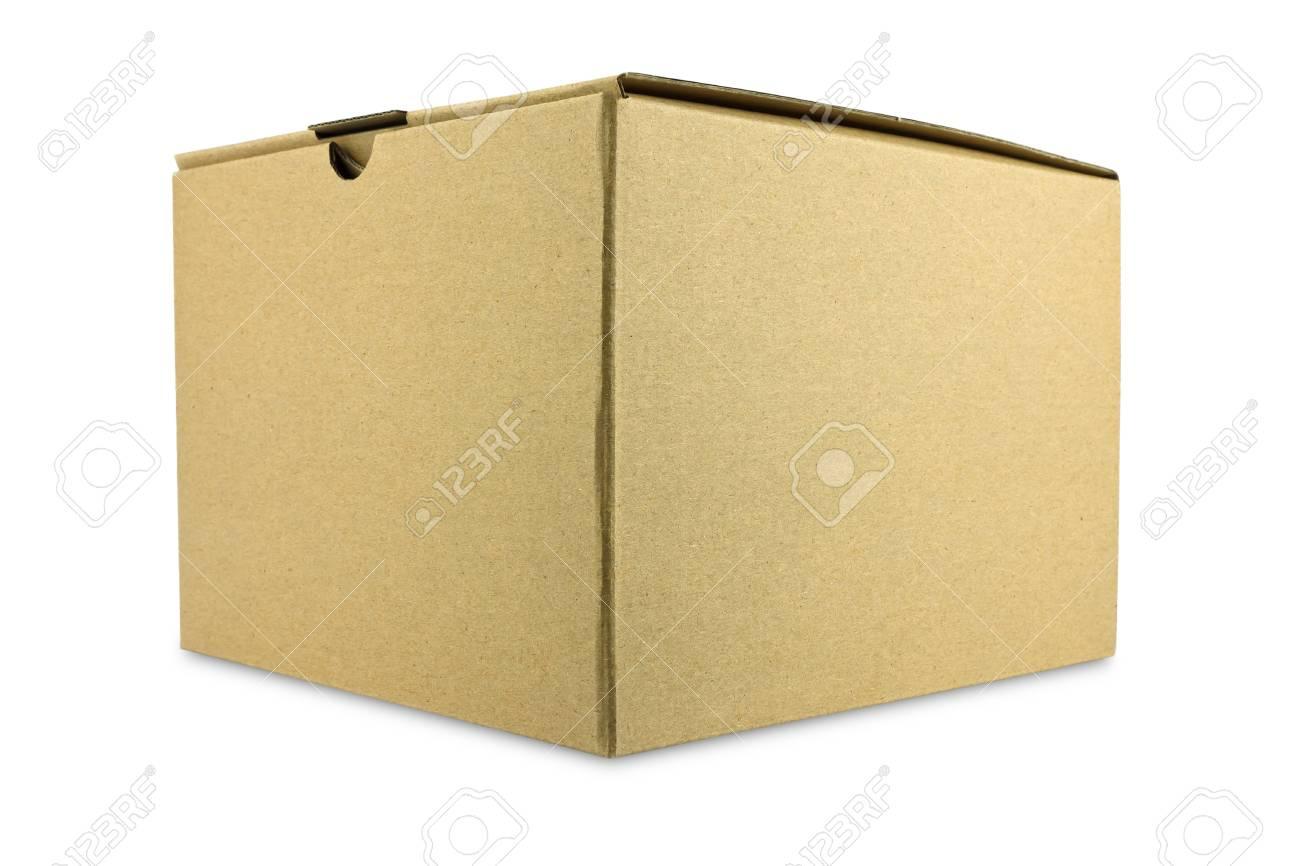 A closed cardboard box Stock Photo - 11884824