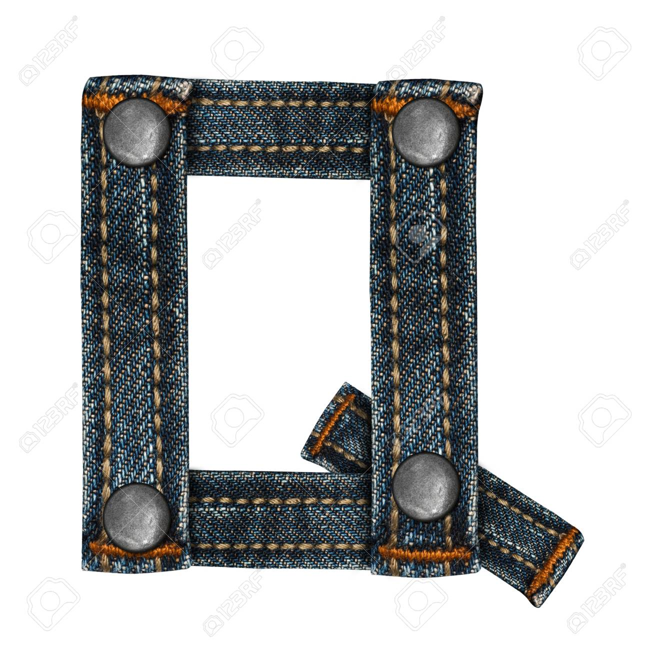 letter of jeans alphabet Stock Photo - 14150431