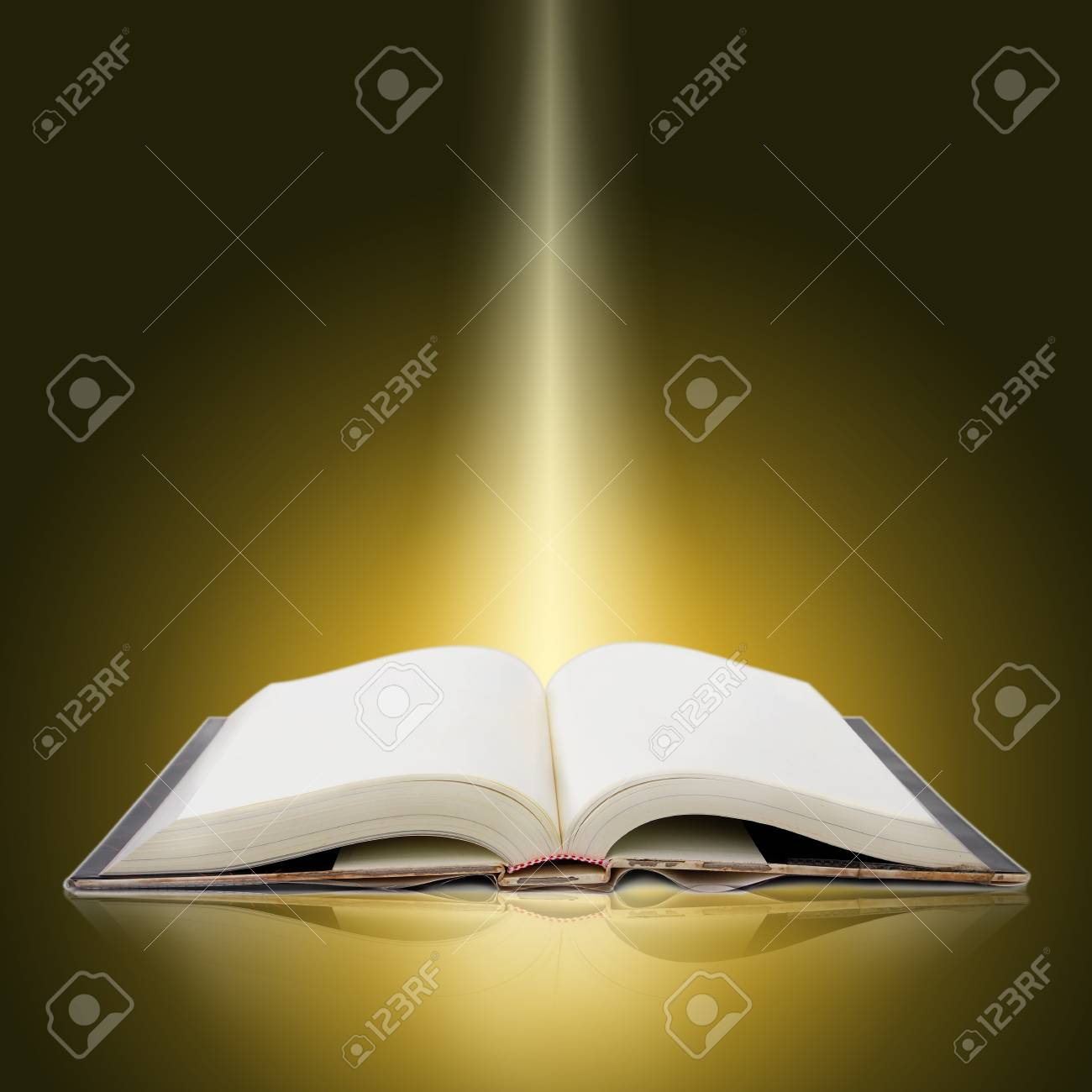Livre Lumineux Ouvert Avec Des Lumieres Et Des Couleurs Vives
