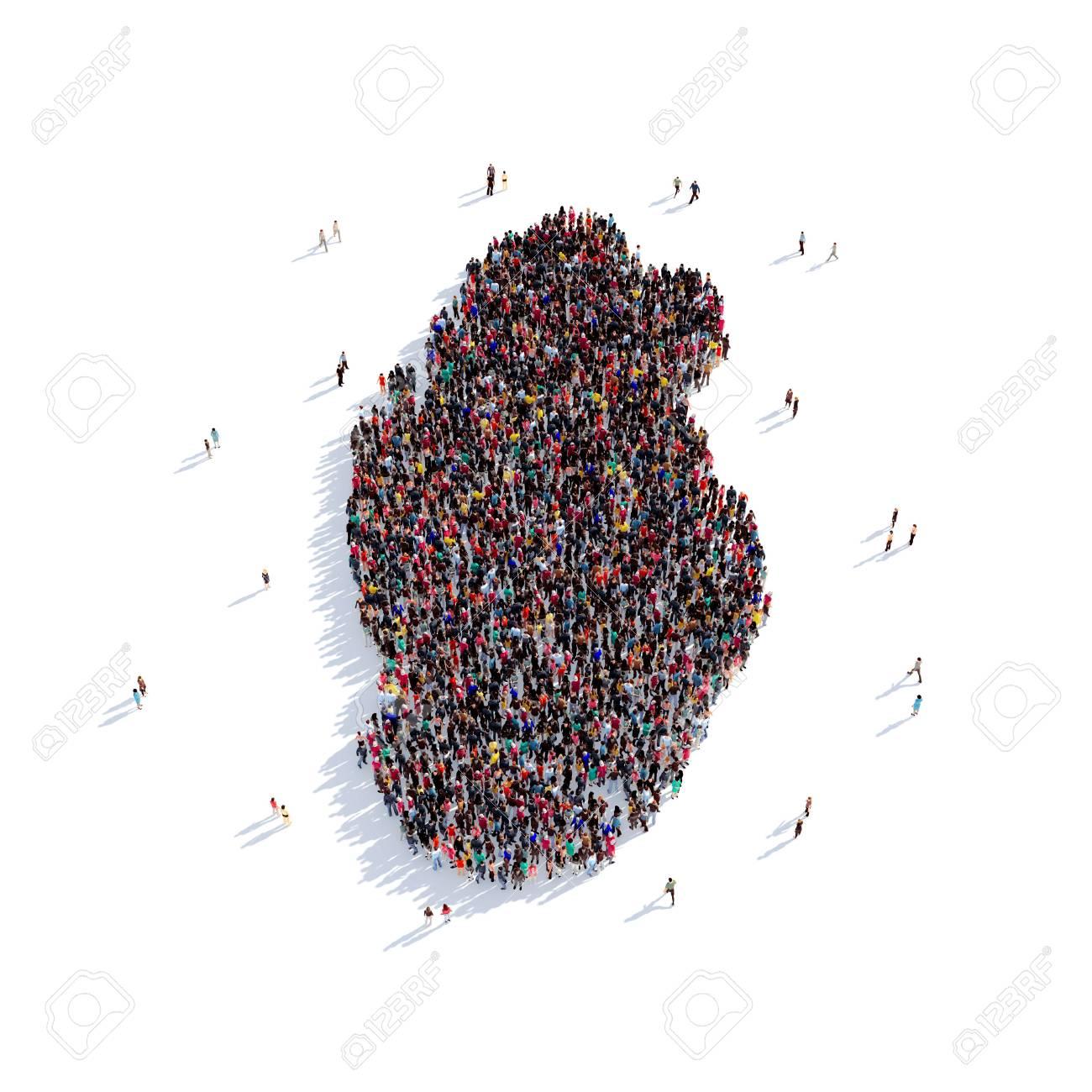 Carte Du Monde Qatar.Grand Et Creatif Groupe De Personnes Reunies Sous La Forme D Une