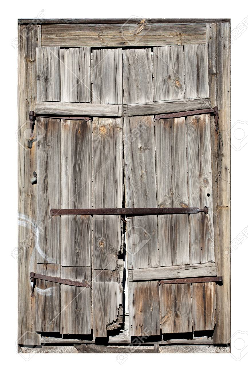 Old window with closed shutters Stock Photo - 9153180