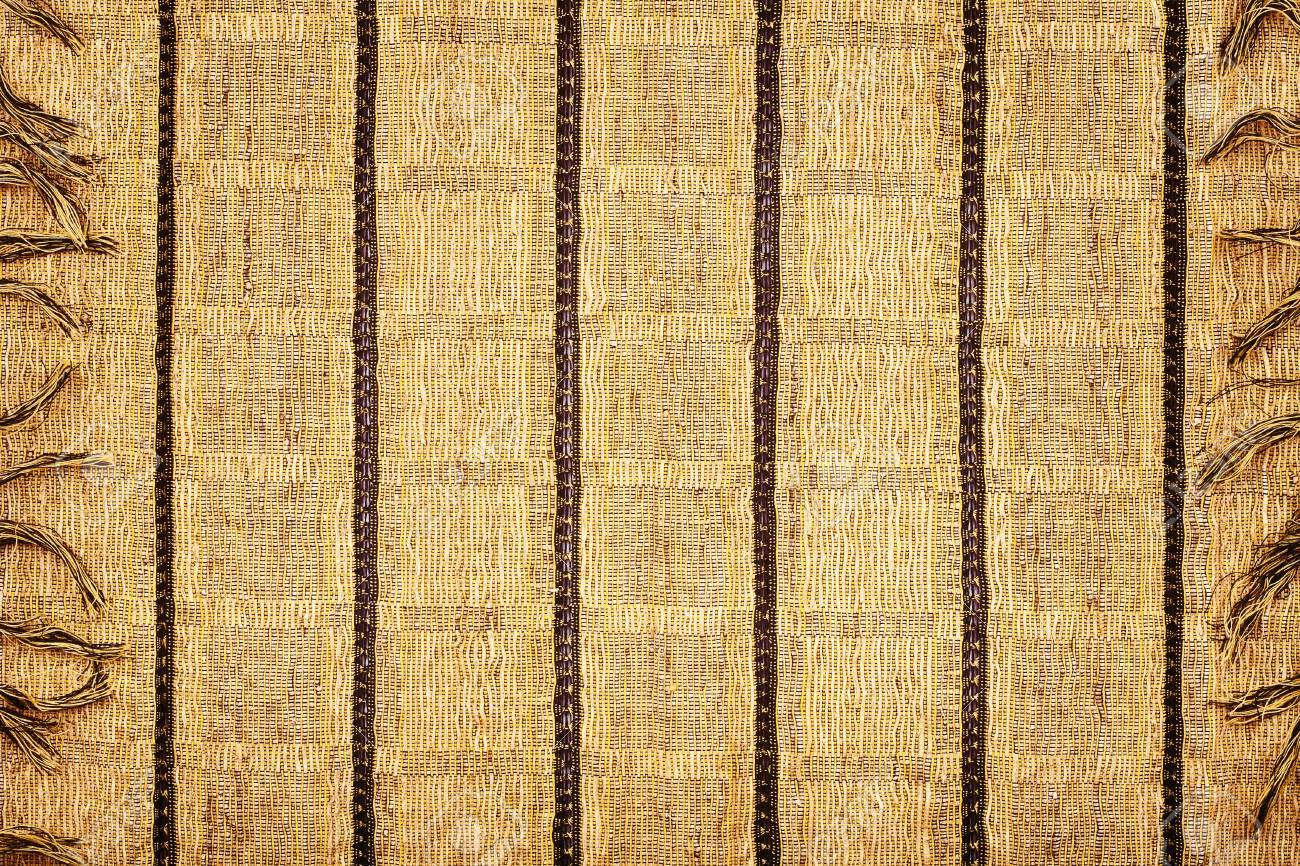 Yellow fabric napkin texture background Stock Photo - 13245404