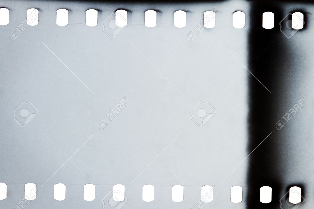 blank grained film strip texture background stock photo 21536418