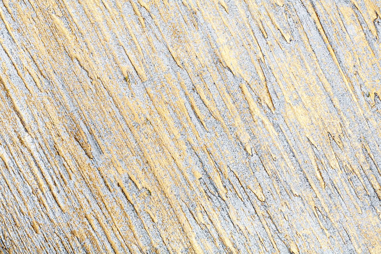 White And Golden Lined Wall Stucco Texture Background Decorative