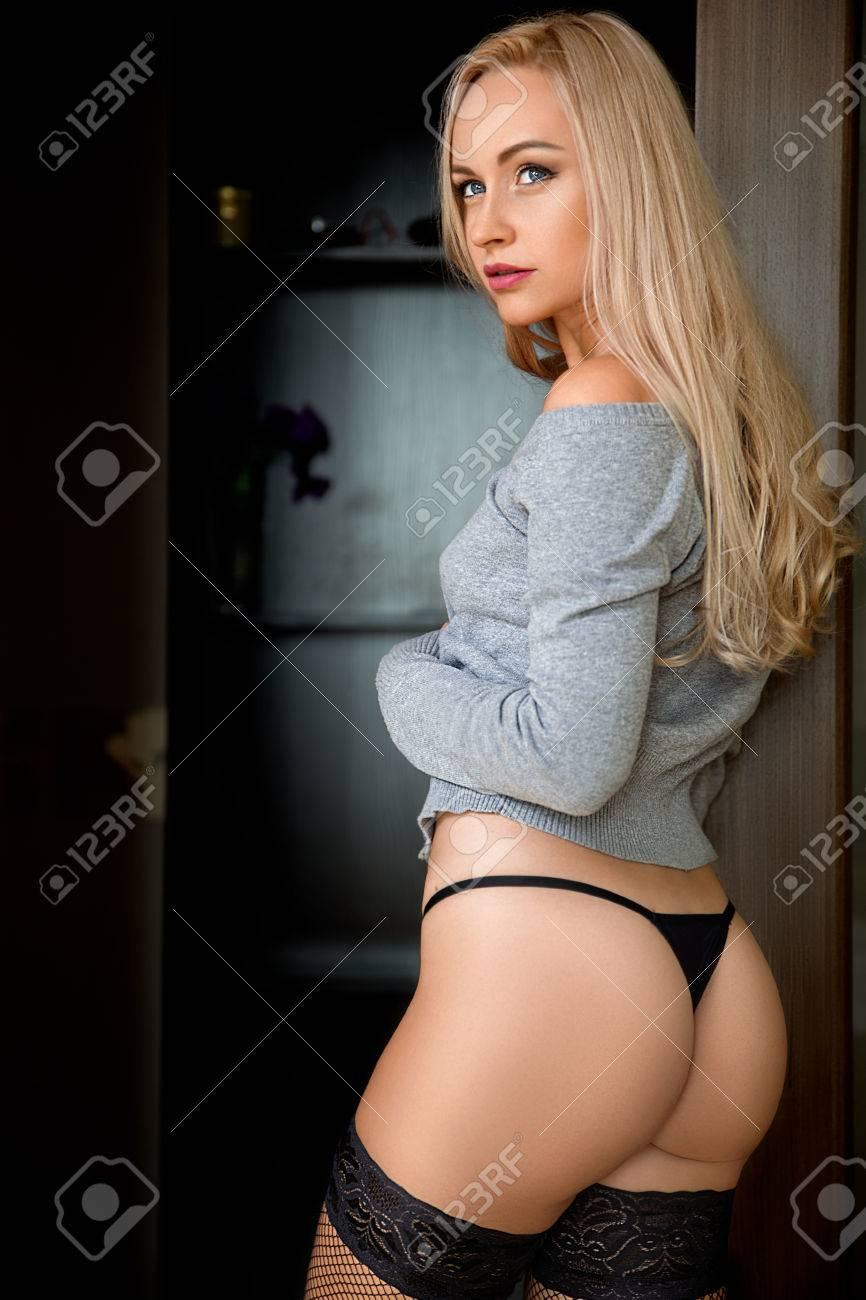 Blonde Thong Panties Scenes