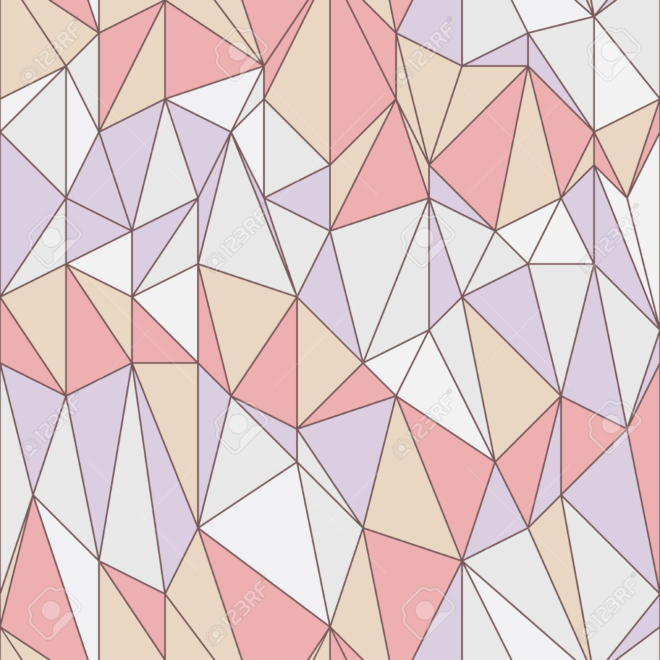 Seamless geometric pattern with triangular grid Stock Vector - 17880145
