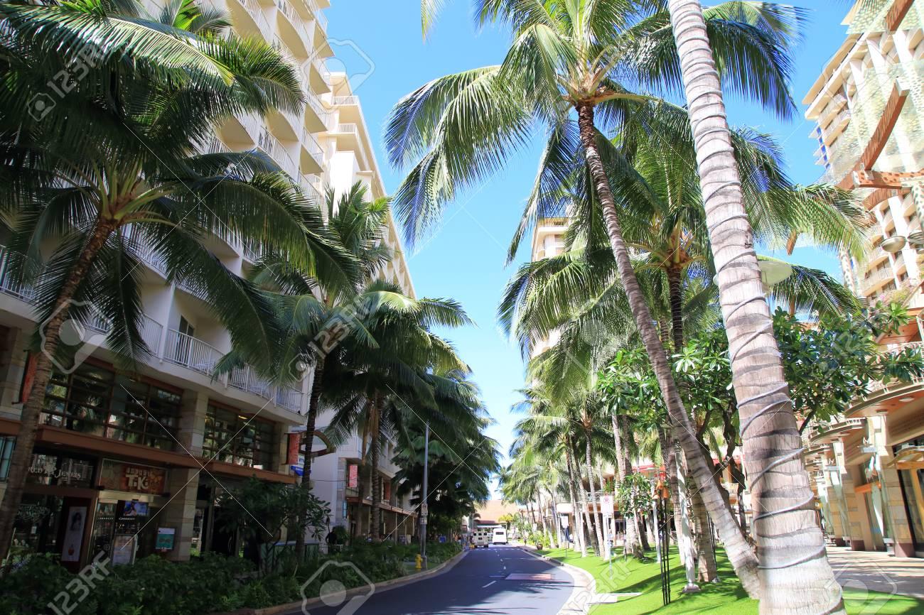 Waikiki Beachwalk In Honolulu Hawaii