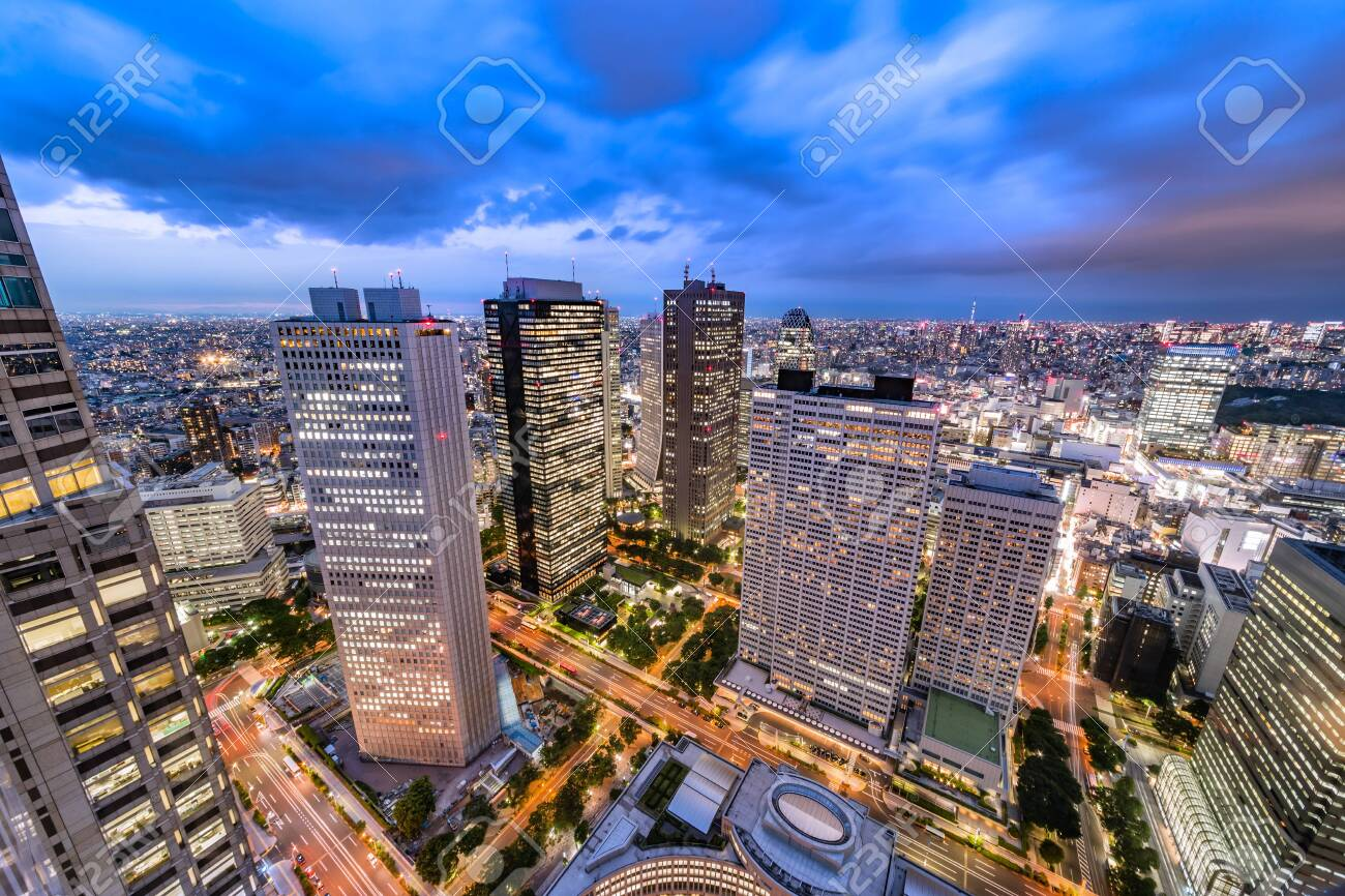 The Tokyo sky - 150707819