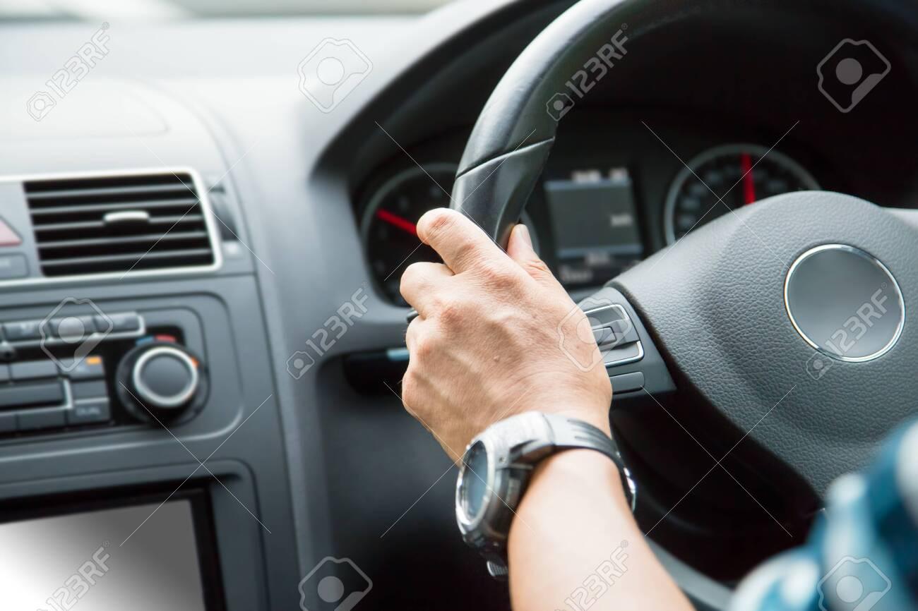 Men driving background. - 150739243