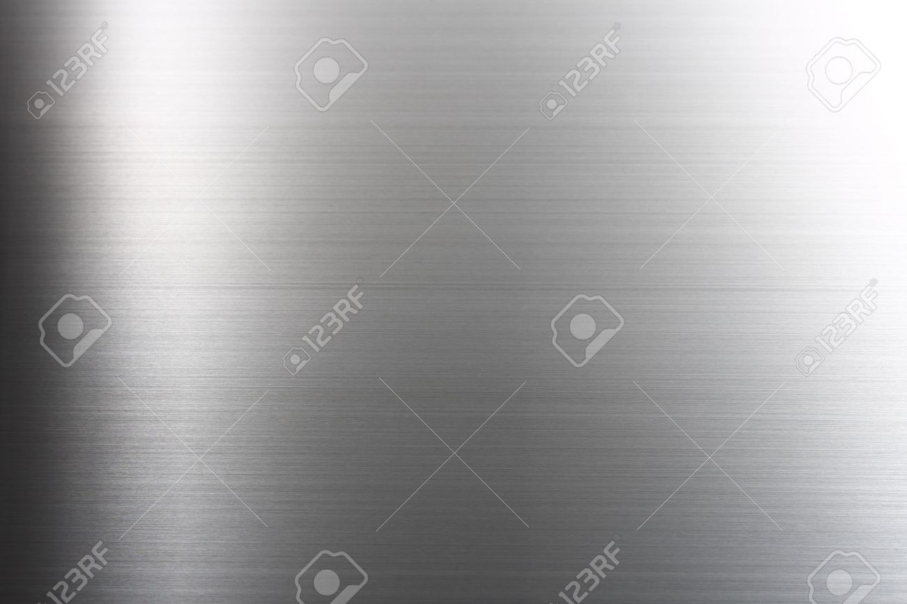 Brushed metal texture abstract background Stock Photo - 46618111