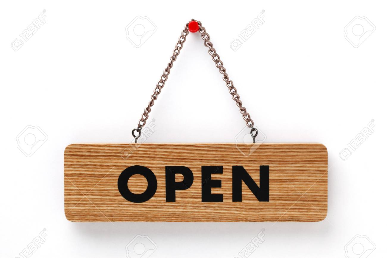 Open sign - 46618259