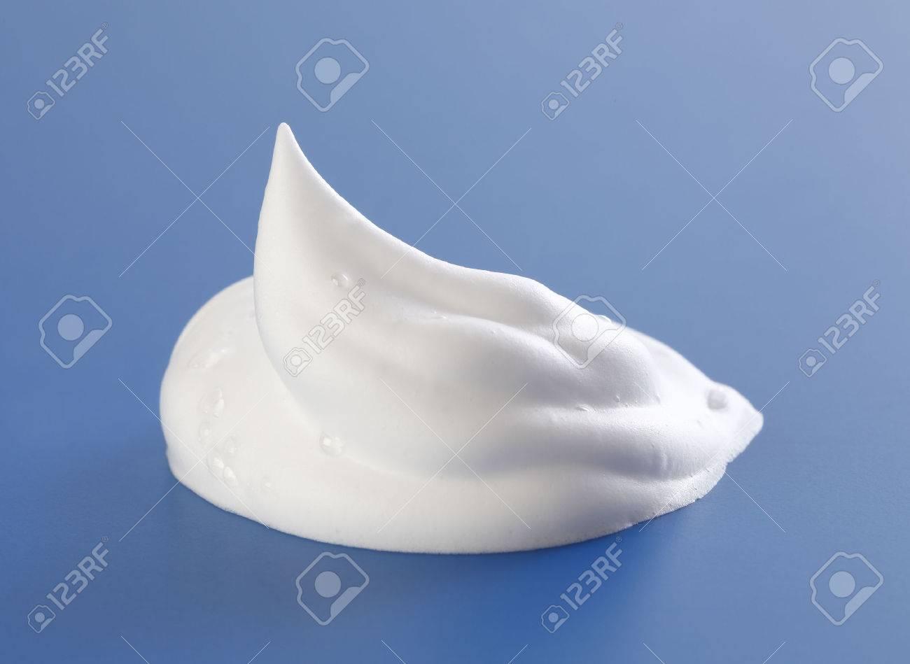 Shaving cream on Blue - 60034346