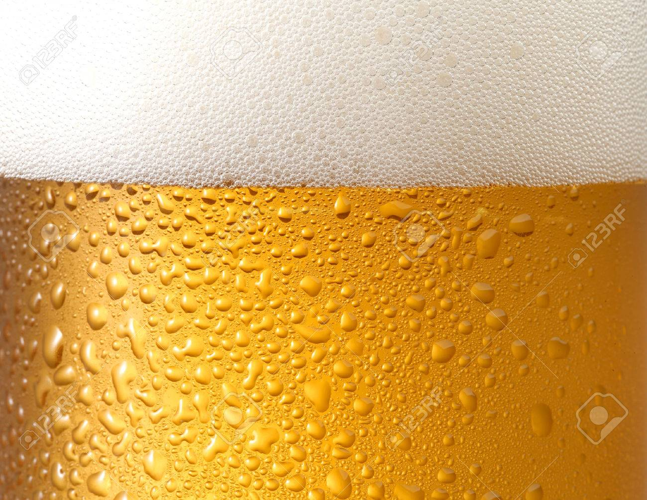 background beer with foam and bubbles? - 60034359