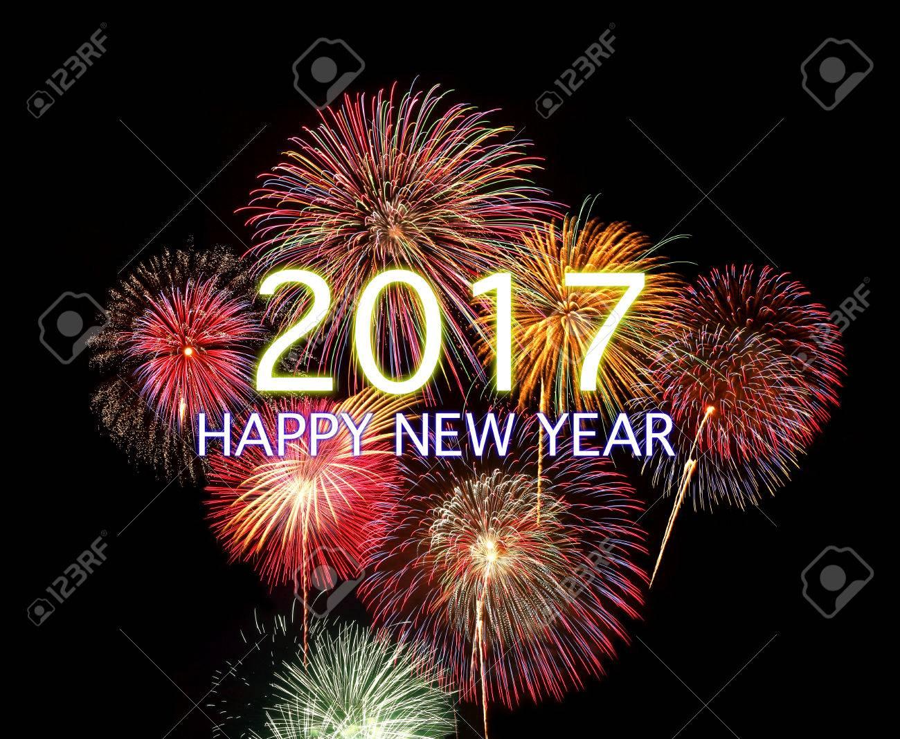 2017 HAPPY NEW YEAR - 65590588