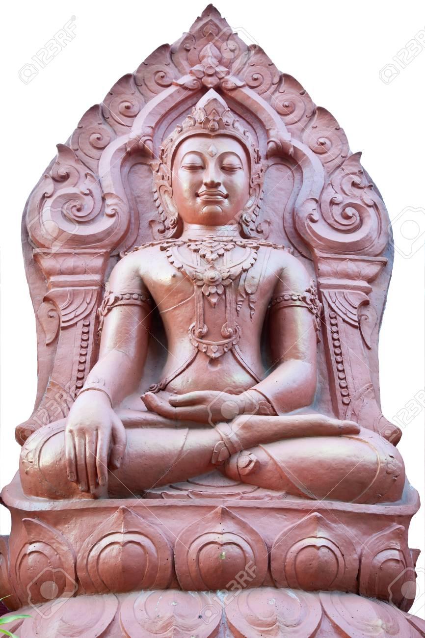 buddha image at golden triangle, chiangrai, thailand Stock Photo - 10313890