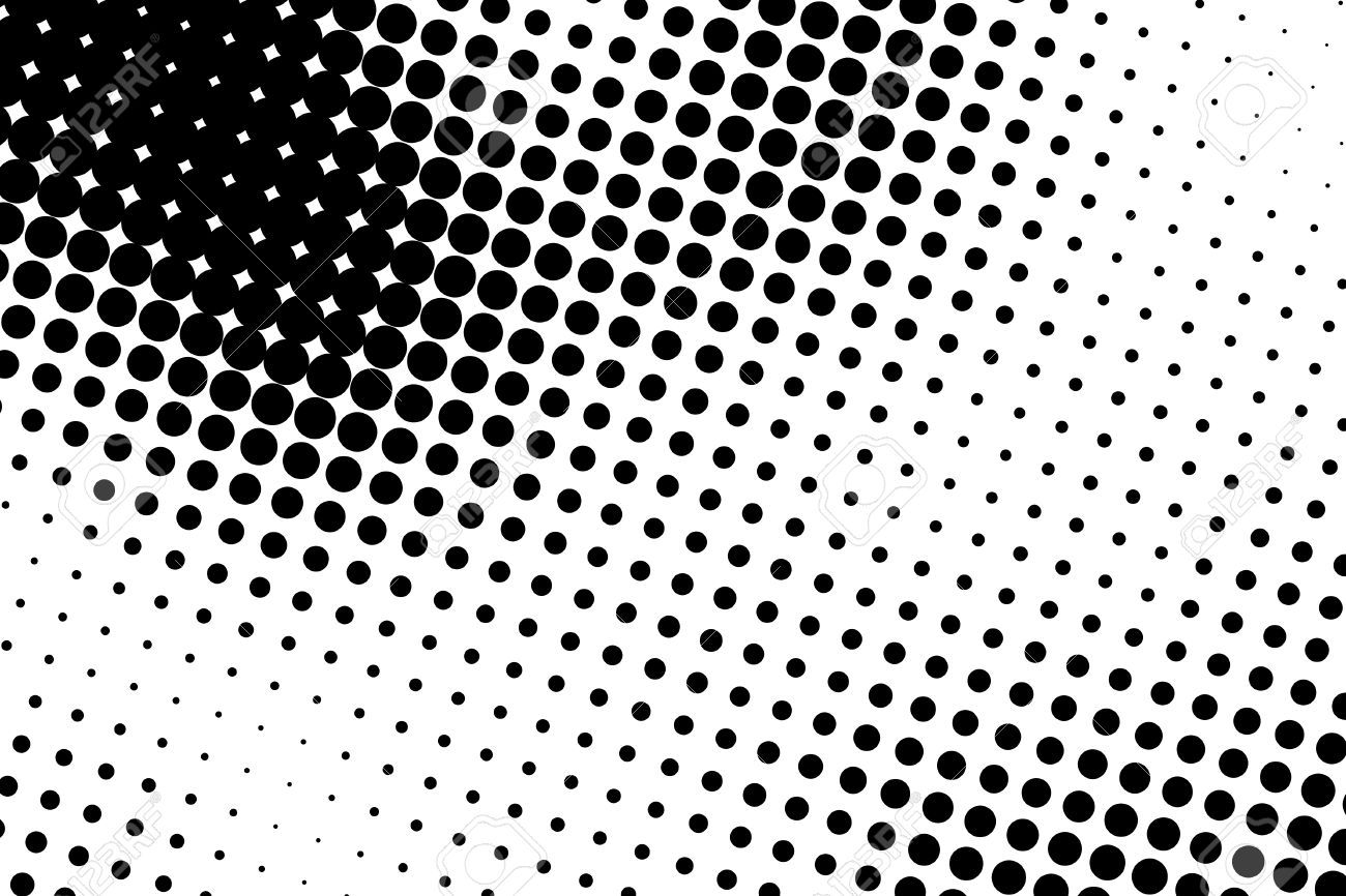 halftone dots black and white dot background black dots on stock