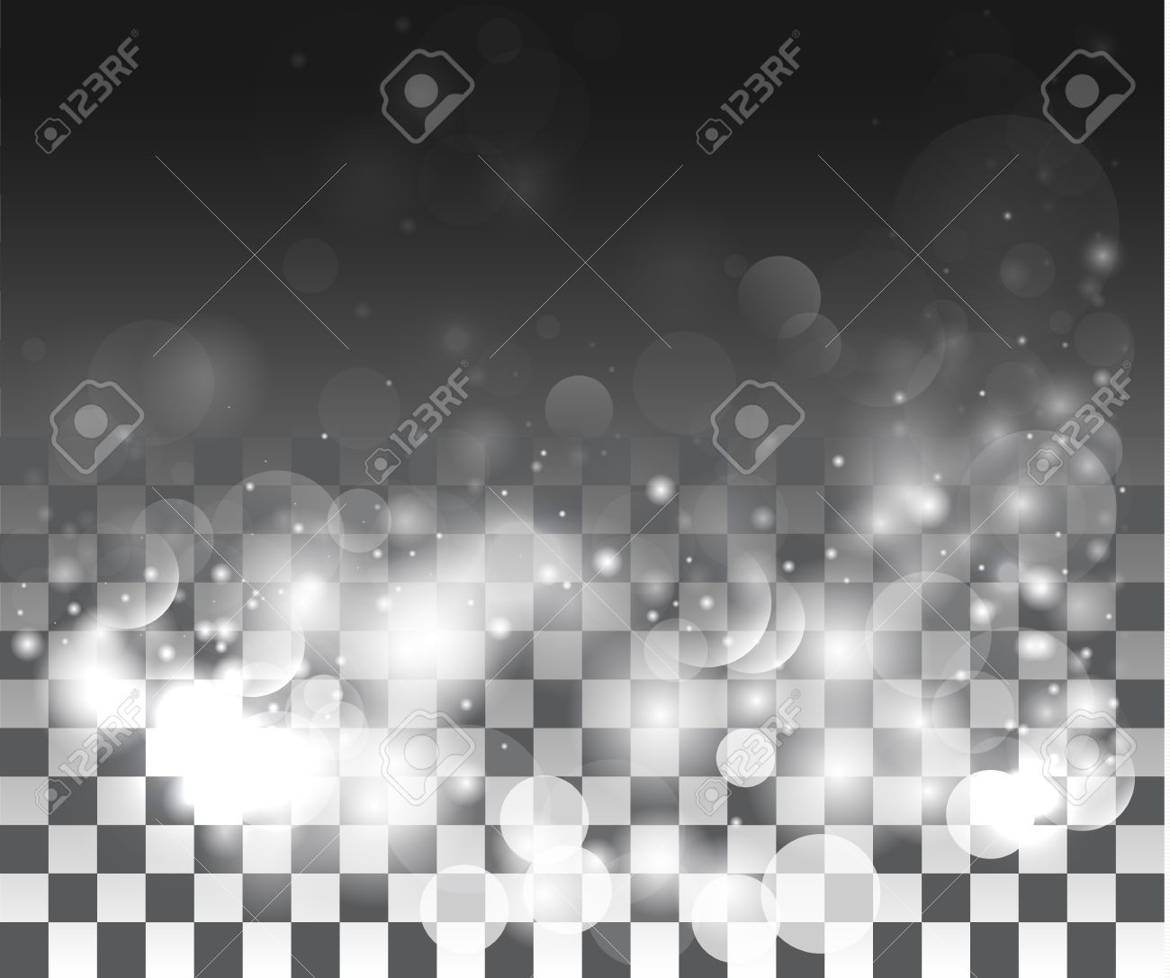 Background image effects - Vector Special Effects On A Transparent Background Stock Vector 39521920