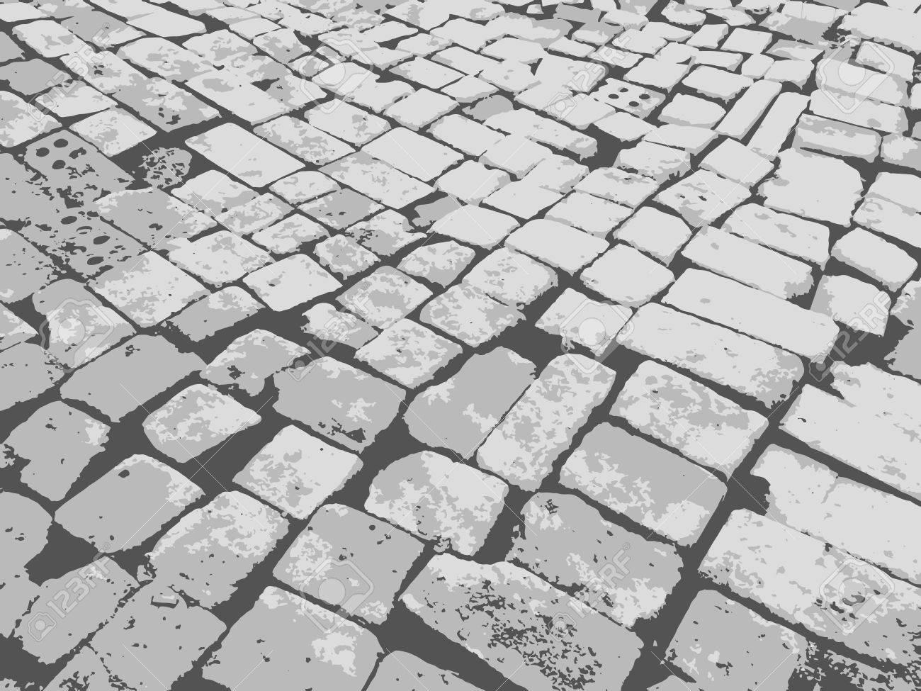Masonry Paving Grunge Background Granite Paving Blocks Square Royalty Free Cliparts Vectors And Stock Illustration Image 41885538