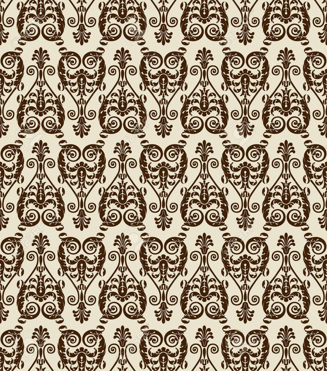 Flower seamless pattern, element for design, vector illustration Stock Vector - 5210272