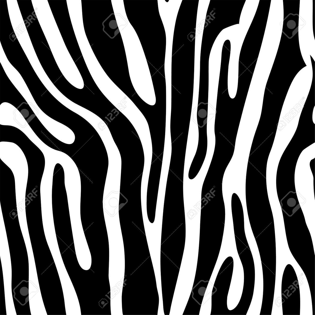Image of: Zebra Skin Seamless Tiling Animal Print Zebra Vector Illustration Stock Vector 8985548 123rfcom Seamless Tiling Animal Print Zebra Vector Illustration Royalty Free