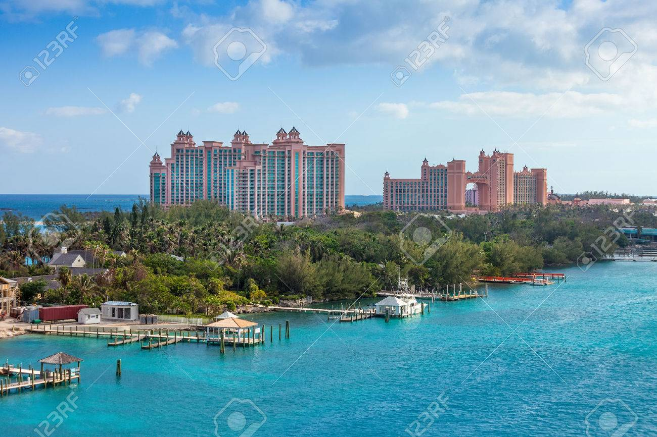 Paradise Island in Nassau, Bahamas - 25837336