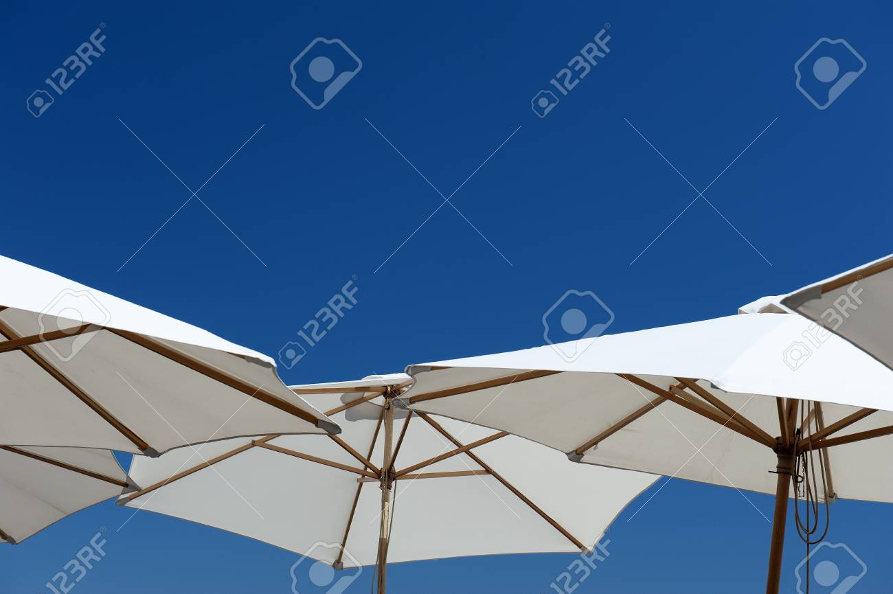 Not a cloud in Gruissan F Stock Photo - 17368345