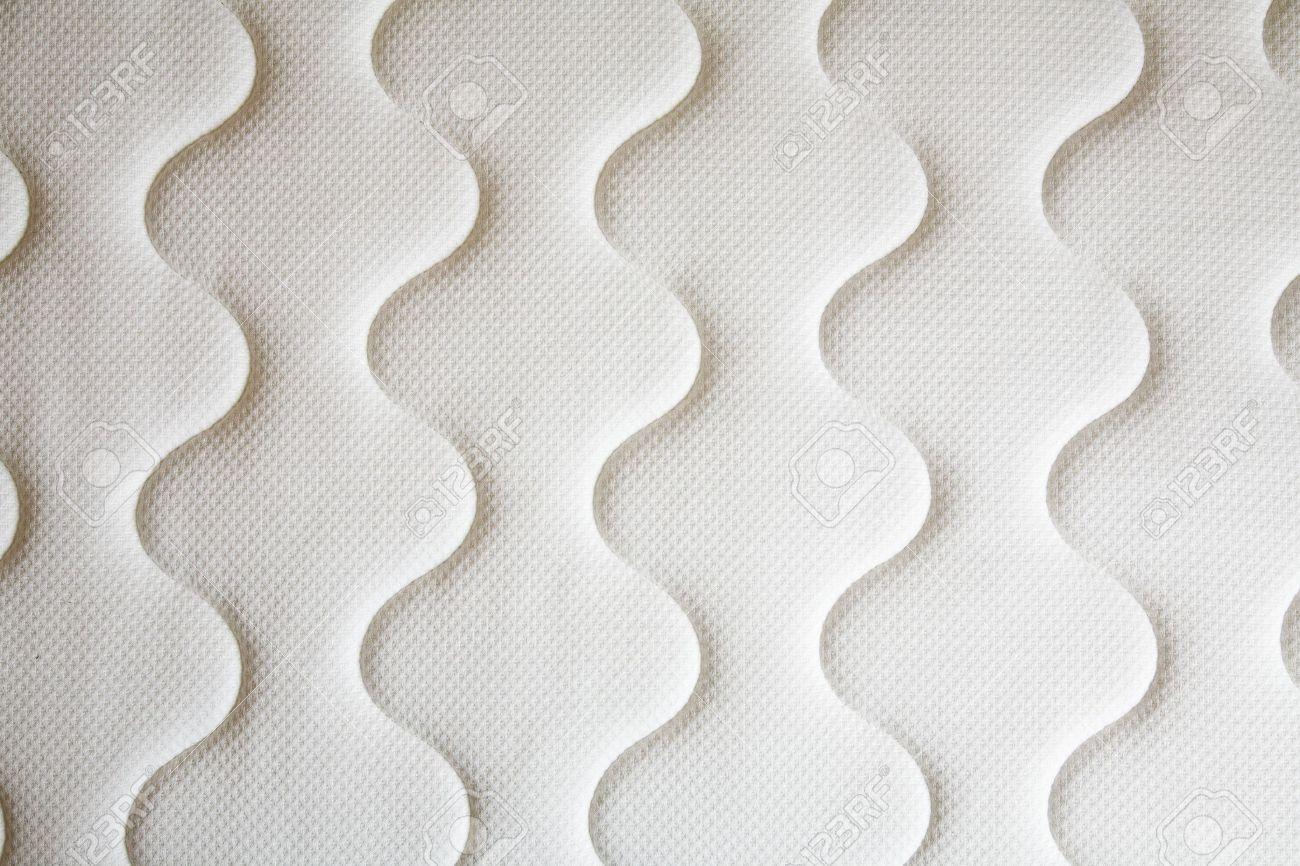 brand new clean spring mattress surface - 10798367