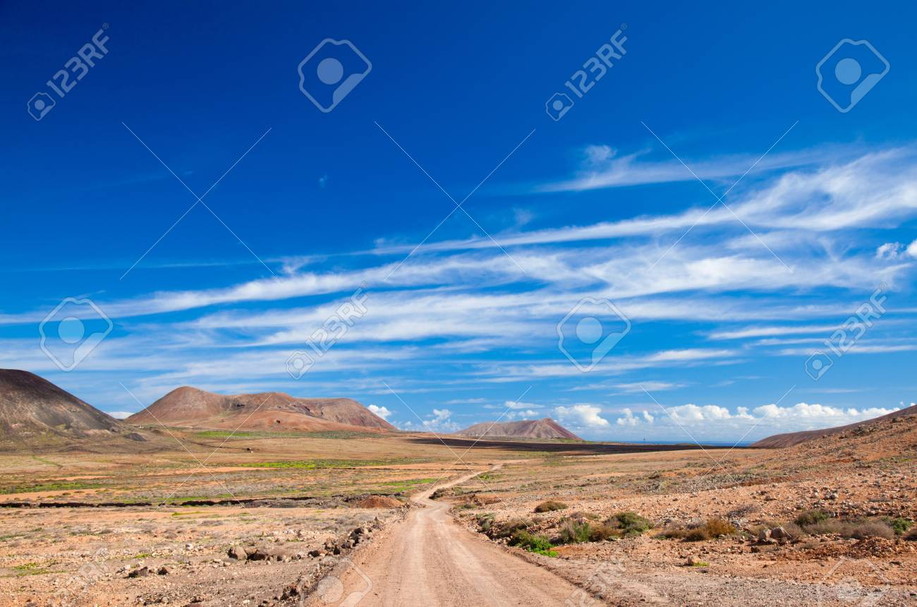 Inland Fuerteventura, Canary Islands Stock Photo - 16878309